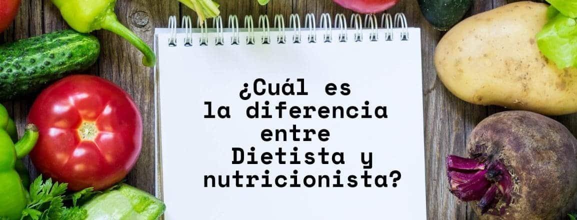 diferencia entre dietista y nutricionista